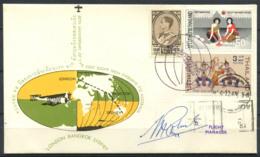 Thaïlande 1969 Enveloppe 100% Oblitéré Londres, Bangkok, Sydney - Thaïlande