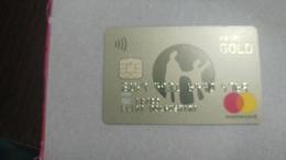 Kazakhstan-(488)-credit Card-(4769-400)-used Card+1card Prepiad Free - Geldkarten (Ablauf Min. 10 Jahre)