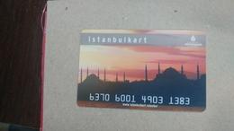 Turkey-(489)-credit Card-(4903-1383)-used Card+1card Prepiad Free - Geldkarten (Ablauf Min. 10 Jahre)