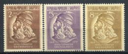 Albanie 1951 Mi. 503-505 Neuf ** 100% Skanderbeg, Gjergj Kastrioti - Albanie