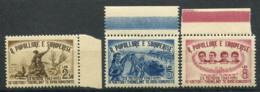Albanie 1951 Mi. 518-520 Neuf ** 100% Organisation De Jeunesse Communiste - Albanie