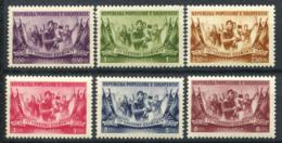 Albanie 1954 Mi. 533-538 Neuf ** 100% Libération - Albanie