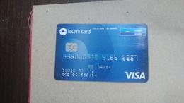 ISRAEL-(491)-credit Card-(8257-062)-used Card+1card Prepiad Free - Geldkarten (Ablauf Min. 10 Jahre)
