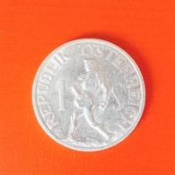 1 Schilling Münze Aus Österreich Von 1946 (sehr Schön) - Oesterreich