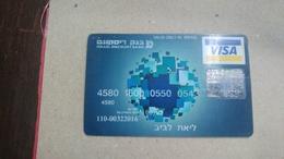 ISRAEL-(492)-credit Card-(0543-278)-used Card+1card Prepiad Free - Geldkarten (Ablauf Min. 10 Jahre)