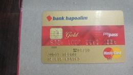 ISRAEL-(494)-credit Card-(1556-000)-used Card+1card Prepiad Free - Geldkarten (Ablauf Min. 10 Jahre)