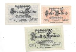 **notgeld Tiroler Landskasse  Serie Compleet 1073/1 - Austria