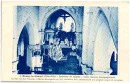 21 BUSSY-le-GRAND - Intérieur De L'église - France