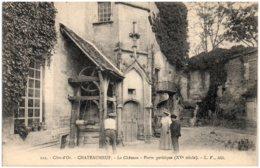 21 CHATEAUNEUF - Le Chateau - Porte Gothique - Autres Communes