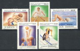 Panama 1987 Mi. 1656-1660 Neuf ** 100% Sport - Panama