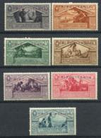La Tripolitaine 1930 Sass. 78-84 Neuf ** 40% Virgilio - Tripolitaine