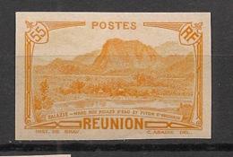 Réunion - 1933 - N°Yv. 136Aa - 55c Brun-rouge - Variété - Non Dentelé / Imperf. - Neuf Luxe ** / MNH / Postfrisch - Réunion (1852-1975)