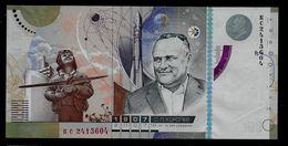 Test Note GOZNAK Korolew 100, INTAGLIO, Promo Note, RRRR, UNC,  185 X 90 Mm, Testnote - Russland