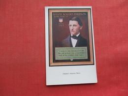 Ralph Waldo Emerson    Ref 3356 - Historical Famous People