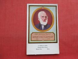 John Greenleaf Whittier    Ref 3356 - Historical Famous People