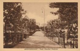 MANFREDONIA - VIALE GIARDINI PUBBLICI - Manfredonia