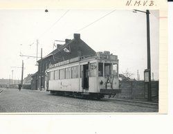 TRAM  VICINALcharleroi   Sud  Foto  9 X 14 Cm - Charleroi
