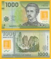 Chile 1000 Pesos P-161g 2016 UNC Polymer Banknote - Chili