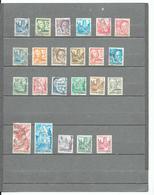 WURTEMBERG  1948  -  Zone Française - Occupation - Lot 23  Timbres Entre  YT 3 Et  YT 34 - Zone Française