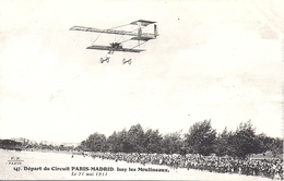 Départ Du Circuit Paris Madrid  Issy Les Moulineaux 24 Mai 1911 E.F Paris N° 147 - Issy Les Moulineaux