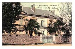 LA MINE DE LITTRY - LES ECOLES - CARTE TOILEE - Autres Communes