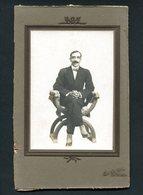 2 Fotografias Antigas De ANTONIO BANDEIRA 1900s - Fotos
