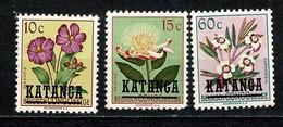 Katanga 1960 OBP/COB 23/24, 29 Nieuw Zonder Gom / Neuf Sans Gomme (2 Scans) - Katanga