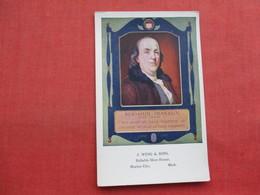 Benjamin Franklin   Ref 3356 - Historical Famous People