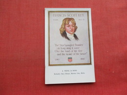Francis Scott Key      Ref 3356 - Historical Famous People