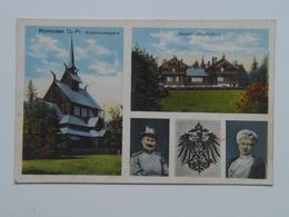 Russia 327 Krasnolesye Kaiser Kaiserin 1918 Ed B Perling - Russie