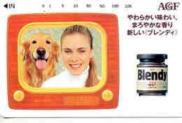 CHIEN - DOG - Télécarte Japon - Dogs