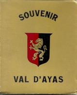 """3573 """" SOUVENIR VAL D'AYAS-12 VEDUTE A COLORI """" ORIGINALE - Dépliants Turistici"""