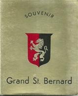 "3575 "" SOUVENIR GRAND ST. BERNARD-12 VEDUTE A COLORI "" ORIGINALE - Dépliants Turistici"