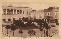 MANFREDONIA - PIAZZA DELLA RIVOLUZIONE - Manfredonia
