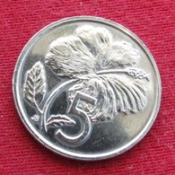 Cook Islands 5 Cents 1987 KM# 33 - Cook Islands