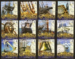 Pitcairn Islands 2007 Yvertn° 673-684  *** MNH Cote 60 Euro Bateaux Boten Ships - Pitcairn