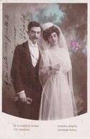 MARRIAGE ENGAGMENT MARIAGE CASAMIENTO CPA COLORISEE VOYAGEE COUPLE CIRCA 1929s - BLEUP - Hochzeiten