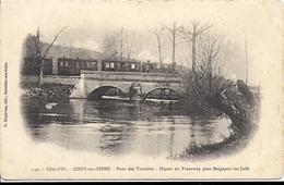 AISEY SUR SEINE Pont Des Troubles Départ Du Tramway - Correspondance Militaire Epinal - Autres Communes