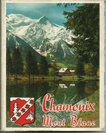 """3584 """"CHAMONIX MONT BLANC-20 VEDUTE A COLORI(18+2)"""" ORIGINALE - Dépliants Turistici"""
