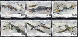 Salomon Solomon Islands 2010 Yvertn° 1269-1274 *** MNH Cote 15 Euro Avions Vliegtuigen Airplanes - Salomon (Iles 1978-...)