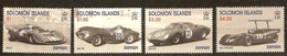 Solomon Salomon Islands 1999 Yvertn° 942-945 *** MNH Cote 7,50 Euro Ferrari Voitures Autos Cars - Salomon (Iles 1978-...)