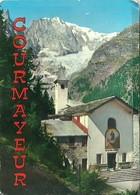 """3585 """"COURMAYEUR-12 VEDUTE A COLORI(10+2)"""" ORIGINALE - Dépliants Turistici"""