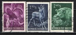 AUSTRIA - 1959 - 1° CONGRESSO INTERNAZIONALE DELLA CACCIA A VIENNA - USATI - 1945-60 Oblitérés