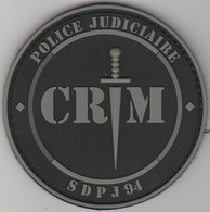 Écusson Police - Brigade Criminelle SDPJ 94 BV - Police & Gendarmerie