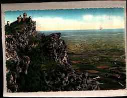 1691) CARTOLINA DI SAN MARINO-PANORAMA-VIAGGIATA - San Marino