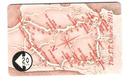 Isle Of Man - The T.T. Course 1911 - Map 20 Units - 9IOMF - Isola Di Man