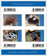 H01 Croatia 2019 Croatian Undersea World III (D)  Sheetlets - Croatie