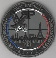 Écusson Police - BRF Anti-Criminalité BSSG 2 - Police & Gendarmerie