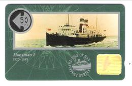 Isle Of Man - Manxman I 1920 - 1949 - Ship - Schiff - Dampfer - 50 Units - 10IOMD - Isola Di Man