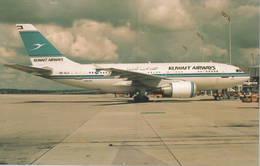 Kuwait Airways A310-308  9K-ALA At Brussels - 1946-....: Era Moderna